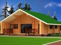 Строительство дома из бруса в Новосибирске