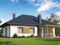 Ричмонд - Проект одноэтажного дома из бруса, 10 х 13 м., 109 кв. м.