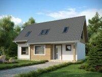 Оффенбах - Проект дома из бруса с мансардой: 8 х 13 м., 139 кв. м.